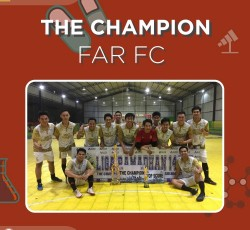 [Mipa Award-The Champion of Sparr Islamic Futsal Solidarity 2018]
