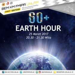 Earth Hour FMIPA UNLAM