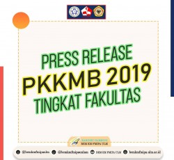 [Press Release : PKKMB FMIPA ULM 2019]