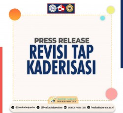 [PRESS RELEASE REVISI TAP KADERISASI]