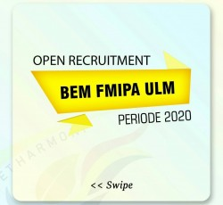 [Open Recruitment BEM FMIPA ULM periode 2020]